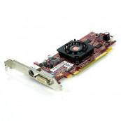 Placa video PCI-E Ati Radeon 4550, 512Mb, High Profile + Cablu DMS-59 cu doua iesiri VGA, Second Hand Componente Calculator