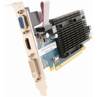 Placa video Sapphire AMD Radeon HD 5450, 512MB DDR3, HDMI, DVI, VGA
