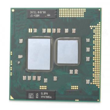 Procesor Laptop Intel Core i5-430M Gen 1, 2.26 GHz, 3 MB Cache, DDR3 1066MHz