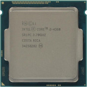 Procesor Intel Core i3-4360 3.70GHz, 4MB Cache, Socket 1150, Second Hand Componente Calculator