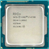 Procesor Intel Core i7-4770S 3.10GHz, 8MB Cache, Socket 1150, Second Hand Componente Calculator