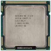 Placa de baza Intel DQ57TM + Procesor Intel Core i5-650 3.20GHz, Socket 1156, Cooler, Fara shield, Second Hand Componente Calculator