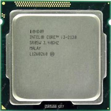 Procesor Intel Core i3-2130 3.40GHz, 3MB Cache, Socket 1155, Second Hand Componente Calculator