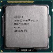 Procesor Intel Core i3-3225 3.30GHz, 3MB Cache, Socket 1155, Second Hand Componente Calculator