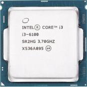 Procesor Intel Core i3-6100 3.70GHz, 3MB Cache, Socket 1151, Second Hand Componente Calculator