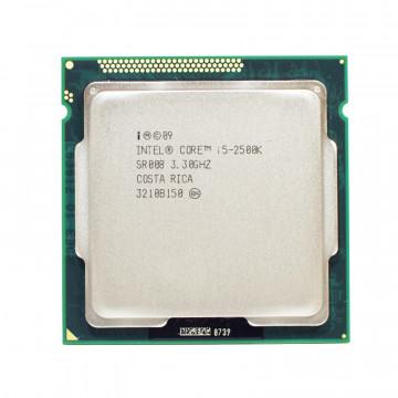 Procesor Intel Core i5-2500K 3.30GHz, 6MB Cache, Socket 1155, Second Hand Componente Calculator