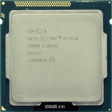 Procesor Intel Core i5-3550 3.30GHz, 6MB Cache, Socket 1155, Second Hand Componente Calculator