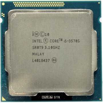 Procesor Intel Core i5-3570S 3.10GHz, 6MB Cache, Socket 1155, Second Hand Componente Calculator