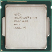Procesor Intel Core i5-4670 3.40GHz, 6MB Cache, Socket 1150, Second Hand Componente Calculator