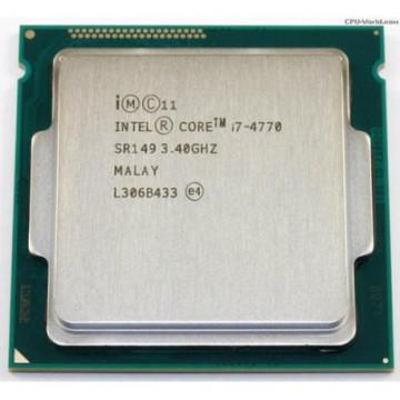 Procesor Intel Core i7-4770 3.40GHz, 8MB Cache, Socket 1150, Second Hand Componente Calculator