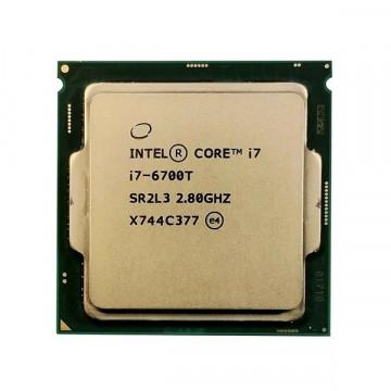 Procesor Intel Core i7-6700T 2.80GHz, 8MB Cache, Socket 1151 v1, Second Hand Componente Calculator