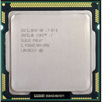 Procesor Intel Core i7-870 2.93GHz, 8MB Cache, Socket 1156, Second Hand Componente Calculator