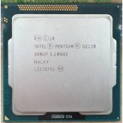 Procesor Intel Pentium Dual Core G2120 3.10GHz, 3MB Cache, Socket LGA1155, Second Hand Componente Calculator
