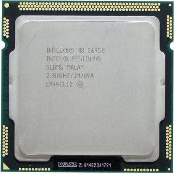 Procesor Intel Pentium Dual Core G6950 2.80GHz, 3MB Cache, Socket LGA1156, Second Hand Componente Calculator