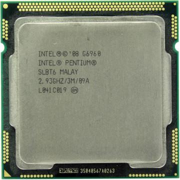 Procesor Intel Pentium Dual Core G6960 2.93GHz, 3MB Cache, Socket LGA1156, Second Hand Componente Calculator