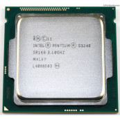 Procesor Intel Pentium G3240 3.10GHz, 3MB Cache, Socket 1150, Second Hand Componente Calculator