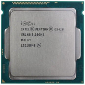 Procesor Intel Pentium G3420 3.20GHz, 3MB Cache, Socket 1150, Second Hand Componente Calculator