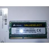 Memorie laptop 8GB, SO-DIMM DDR3-1333MHz, 204PIN, PC3L-10600S, Corsair Componente Laptop