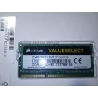 Memorie laptop 8GB, SO-DIMM DDR3-1333MHz, 204PIN, PC3L-10600S, Corsair