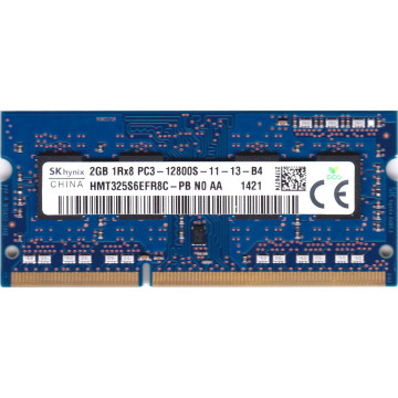 Memorie laptop SO-DIMM DDR3-1600 2GB PC3-12800S 204PIN Componente Laptop