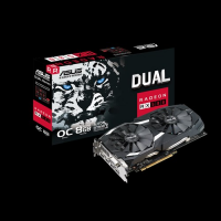 Placa video ASUS DUAL OC Radeon RX 580 GAMING, 8GB, DDR5, 2x HDMI, 2x Display Port, DVI-D, 256-bit