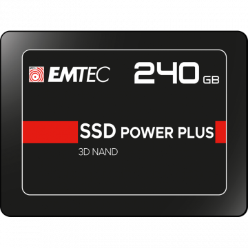 Solid State Drive (SSD) EMTEC 240GB, 2.5'', SATA III Componente Laptop