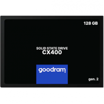 Solid State Drive (SSD) 128GB GoodRam, CX400, 2.5'', SATA III Componente Laptop