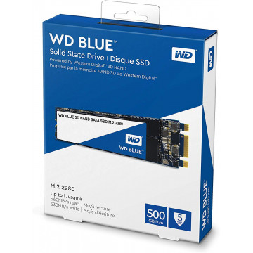 Solid State Drive (SSD) M.2 2280 Western Digital Blue 500GB, SATA Componente Laptop