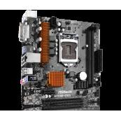 Placa de baza Asrock H110M-DGS, Socket 1151, Form Factor mATX, cu shield + Cooler Intel, Second Hand Componente Calculator