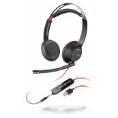 Casti pentru Call Center Plantronics 207576-201, Noise cancellation, USB, Jack 3.5mm Periferice