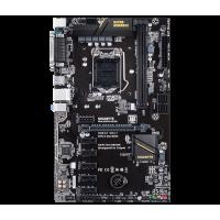 Placa de baza Gigabyte H110, LGA1151, DDR4, 6X PCIe, BTC ETH MINING