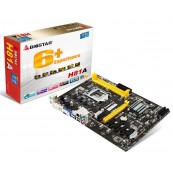 Placa de baza Biostar H81A, LGA1150, DDR3-1600, 2 x USB 3.0 Port, BTC ETH MINING, Versiunea 6.1 Componente Calculator