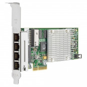 Placa de retea HP Intel Quad Port PCI-e Full Height Gigabit NC375T PCI-E x4 Componente Server