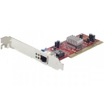 Placa de retea Noua Realtek, PCI, Full Gigabit 10/100/1000, Low and High profile bracket included, RTL8169 Componente Calculator
