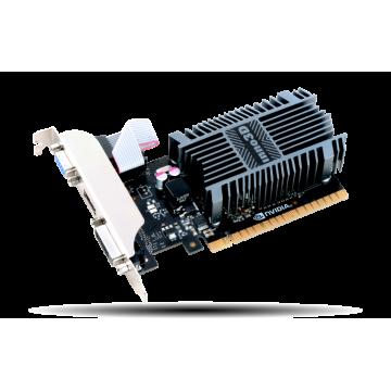 Placa video Inno3D GeForce GT 710, 2GB SDDR3, 64 Bit, HDMI, DVI, D-Sub Componente Calculator