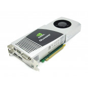 Placa video Nvidia Quadro FX 4800, 1.5GB GDDR3, Display Port, DVI, Second Hand Componente Calculator