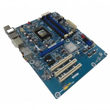 Placa de baza Socket 1155, Intel DH67CL, Gen 2 si 3, Standard ATX, Cooler, Fara Shield, Second Hand Componente Calculator
