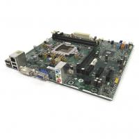 Placa de baza Socket 1155, mATX, HP model: SP# 687577-001 pentru calculator HP 3500 Tower, DDR3, cu shield, cooler, second hand