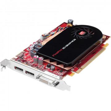Placa video ATI FirePro V3750, 256MB, DVI, 2 x DisplayPort, Second Hand Componente Calculator