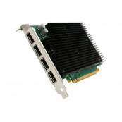 Placa video Nvidia Quadro NVS 450, 512MB DDR3, 4x Display Port, 64 Bit, Silent Cooling, Second Hand Componente Calculator