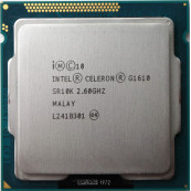 Procesor Intel Celeron Dual Core G1610 2.60GHz, 2MB Cache, Second Hand Componente Calculator