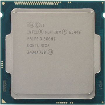 Procesor Intel Pentium Dual Core G3440 3.30GHz, 3MB Cache, Second Hand Componente Calculator