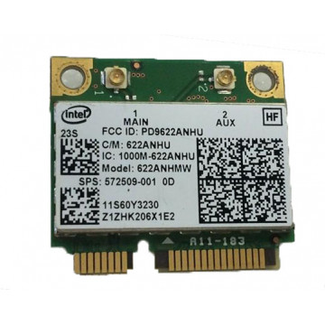 Wi-fi Card INTEL 622ANHU , Second Hand Componente Laptop