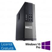 Calculator DELL 3020 SFF, Intel Core i5-4590 3.30 GHz, 8 GB DDR3, 500GB SATA, DVD-RW + Windows 10 Pro Calculatoare Refurbished