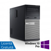 DELL Optiplex 390 Tower, Intel i3-2100, 3.10Ghz, 4Gb DDR2, 250GB SATA, DVD-RW, HDMI + Windows 10 Pro Calculatoare Refurbished