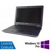 Laptop DELL Latitude E7240, Intel Core i7-4300U Generatia a 4-a 1.90GHz, 8GB DDR3, 160GB SATA + Windows 10 Pro Laptopuri Refurbished
