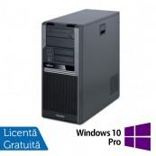 Fujitsu CELSIUS W280, Intel Core i3-530 2.93Ghz, 4Gb DDR3, 250Gb SATA, DVD-RW + Windows 10 Pro Calculatoare Refurbished