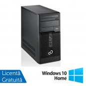 Fujitsu Siemens Esprimo P510, Intel Dual Core G640, 2.8GHz, 4GB DDR3, 500GB SATA, DVD-RW + Windows 10 Home Calculatoare Refurbished