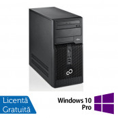 Fujitsu Siemens Esprimo P510, Intel Dual Core G640, 2.8GHz, 4GB DDR3, 500GB SATA, DVD-RW + Windows 10 Pro Calculatoare Refurbished