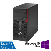 Fujitsu Siemens Esprimo P520, Intel Dual Core G3440, 3.3GHz, 4GB DDR3, 250GB SATA, DVD-ROM + Windows 10 Pro, Refurbished Calculatoare Refurbished